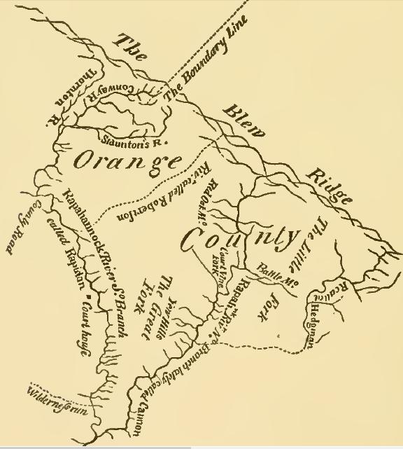 Orange County Geography Of Virginia