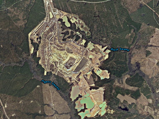 Atlantic Waste Disposal used holding ponds to capture the excessive flow of  leachate from its large