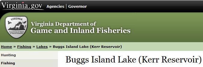 Staunton vs roanoke river for Virginia fish and game