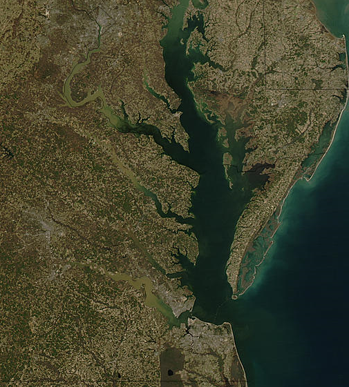Chesapeake Bay on New Year�s Eve, 2003