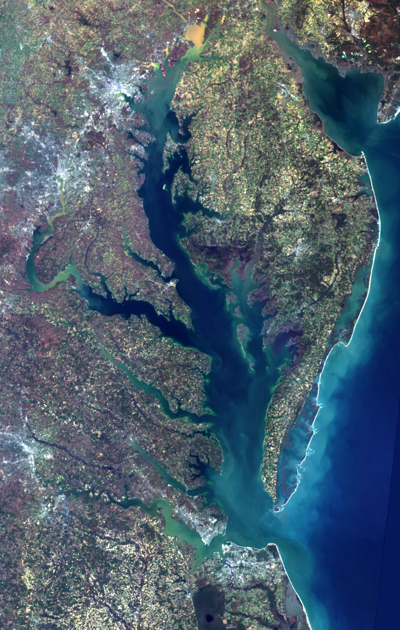 Chesapeake Bay on March 24, 2000