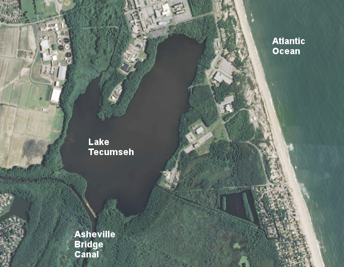 Lakes dams and reservoirs in virginia for Fishing spots in virginia beach